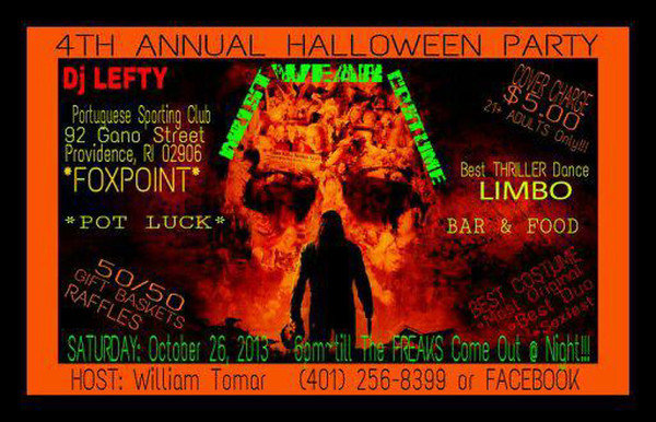 Fox Point 4th annual Halloween Bash